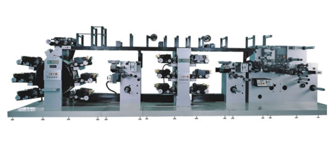 12-color high-speed rotary presses